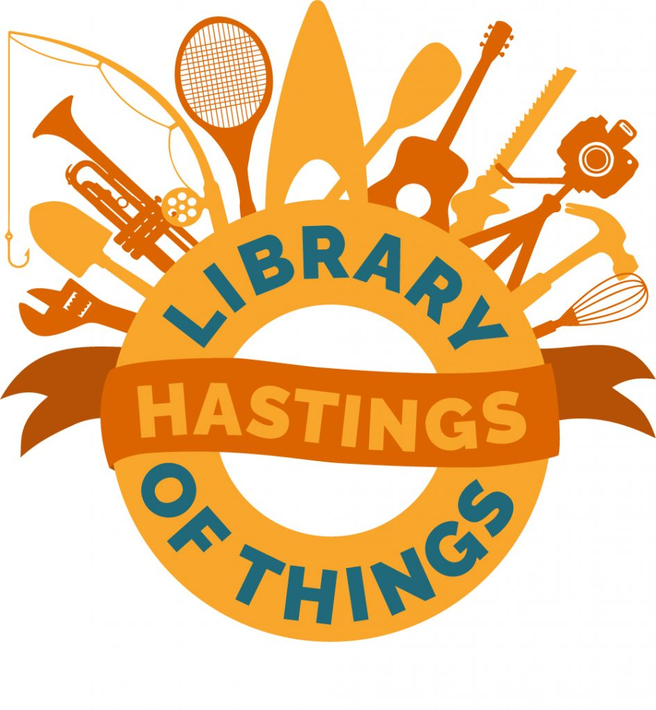 Hastings Library of Things Logo